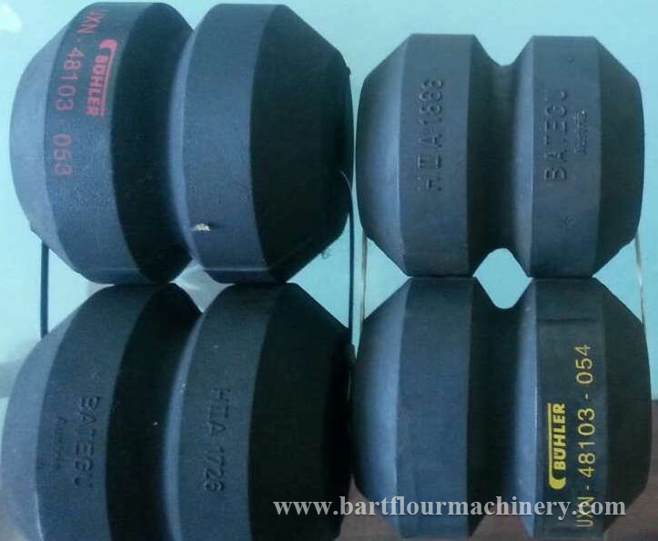 Spare Parts Buhler MQRF Purifier Hollow Rubbers Bearings